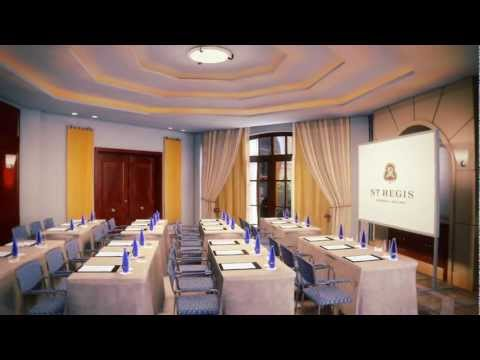 The St. Regis Mardavall Mallorca Resort Virtual Tour featuring the Meeting Room Brisa