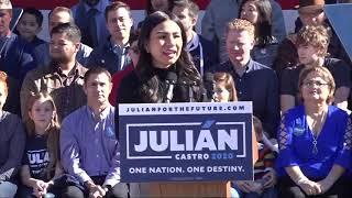 Julian Castro announces bid for 2020 Presidential run