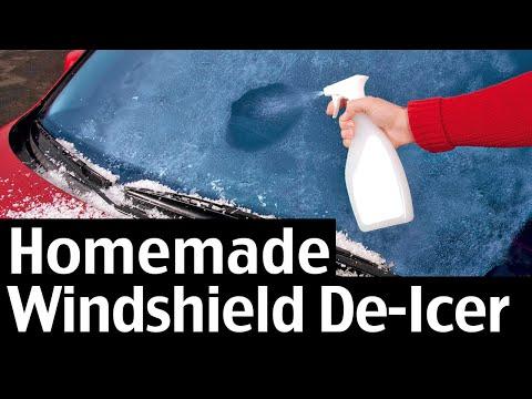 Homemade Windshield De-Icer Spray Recipe For Your Car