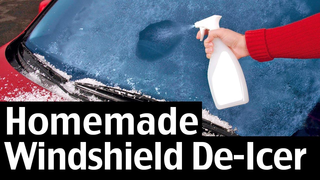 Homemade Windshield De Icer Spray Recipe For Your Car