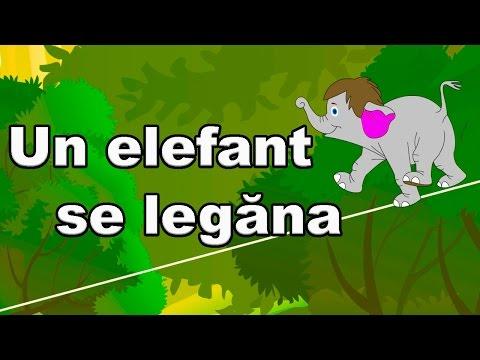 Un elefant se legana - CanteceleCopii.ro