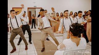 Noivo Surpreende Noiva com Dança no Casamento - Coreografia 4K