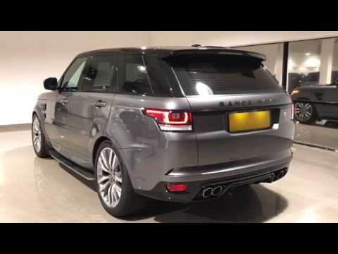 Corris Grey Range Rover Sport 2017 SVR Facelift Conversion