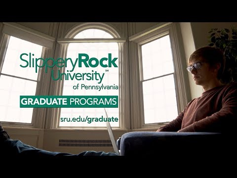 Slippery Rock University Graduate Programs - 2018 TV Commercial Spot A