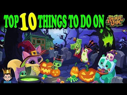TOP 10 FAVORITE THINGS TO DO ON ANIMAL JAM!