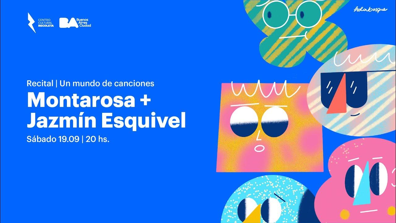 Montarosa + Jazmín Esquivel en vivo en el Recoleta