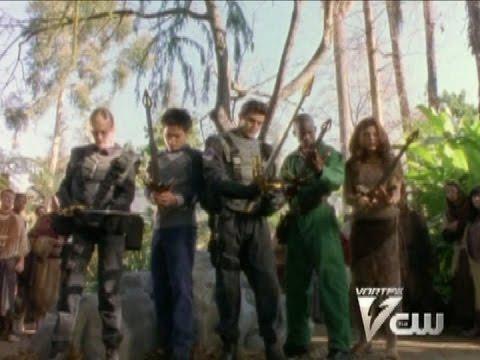 Power Rangers Lost Galaxy - Quasar Quest Part 2 - The Chosen Power Rangers