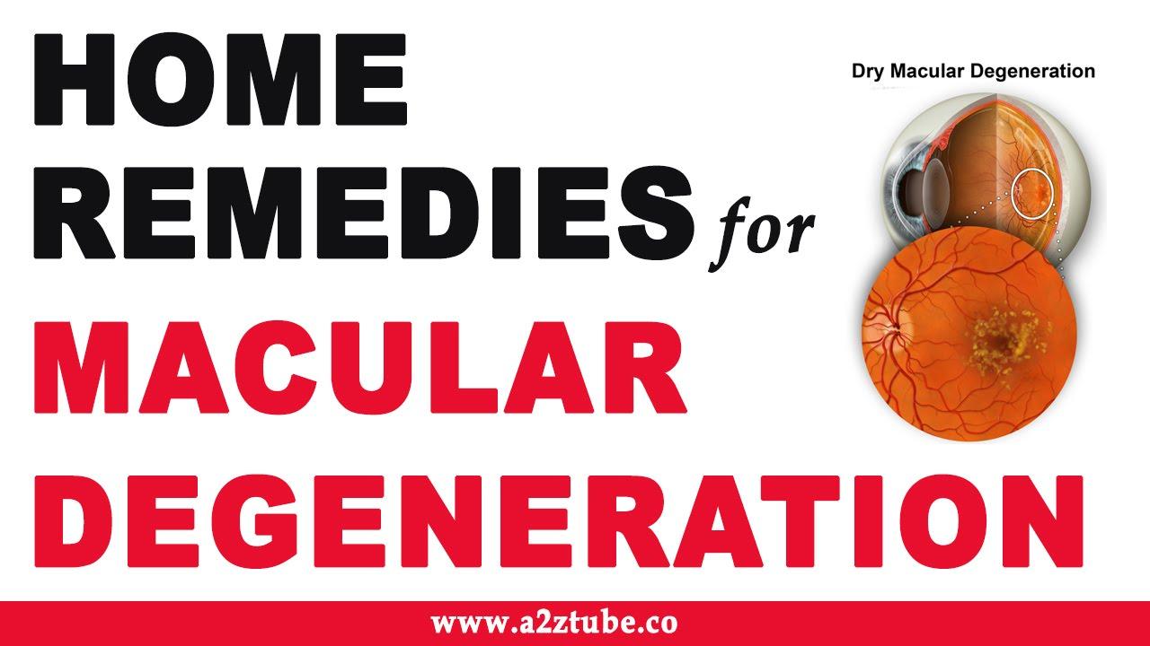 Macular Degeneration Natural Ayurvedic Home Remedies Youtube