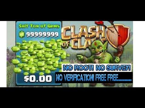 Free Clash of Clans Gems - No