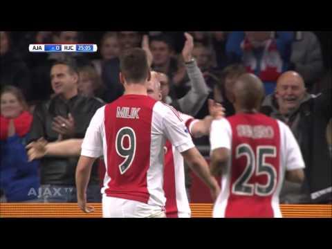 Ajax 2015/16 All Eredivisie Goals - 1st Half of Year