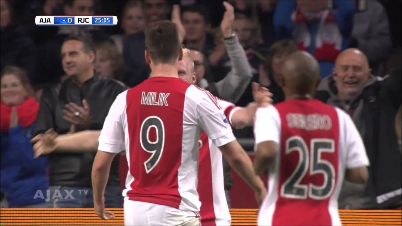 Ajax 2015/16 All Eredivisie Goals - 1st Half of Year