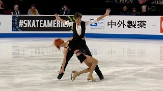 Тиффани Загорски - Джонатан Гурейро. Ритм-танец. Танцы. Skate America. Гран-при по фигурному катанию