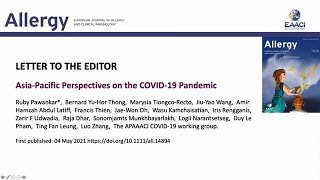 Asia-Pacific perspectives on the COVID-19 pandemic
