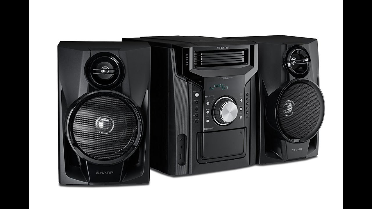 stereo p systems system cd classic watt technology innovative with shelf bluetooth