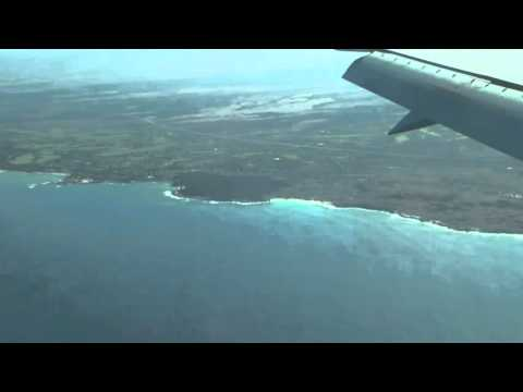Hawaiian Airlines Boeing 717-200 Landing at Kona International Airport