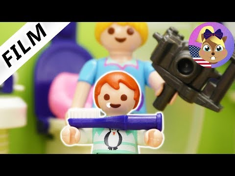 playmobil-film-english-|-emma's-morning-routine-at-the-luxury-villa-|-kids-series-smith-family