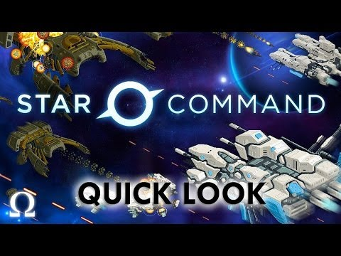 Ohm Plays... Star Command - Quick Look - Android / IOS / PC (Soon)