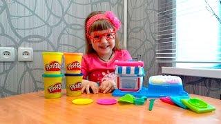 Игрушки.Play Doh Двойные десерты.Игры для детей.Игры с ребенком.Игры с детьми.
