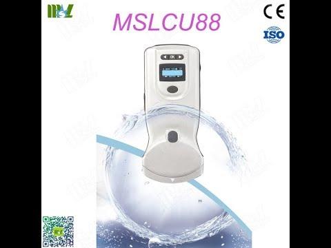 Doppler Wireless Abdominal Ultrasound Scan Seven IPX7 Waterproof Test