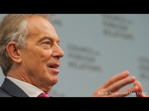 A Conversation With Tony Blair