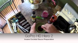 Gopro Extremely Hot Cocktail Sauce For Fish Sticks