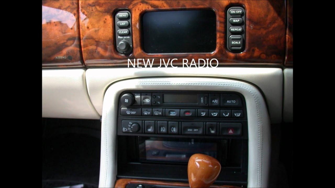 Jaguar Xk8 Radio Replacement New Radio And Sat Nav On