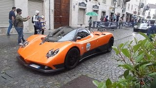 400 SUPERCARS goes madness in the city centre! Epic SOUND & parade! HD