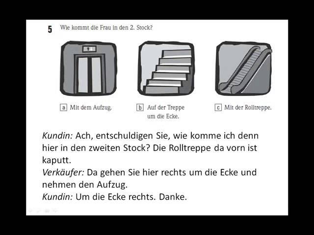 Horen start deutsch 1 test GOETHE