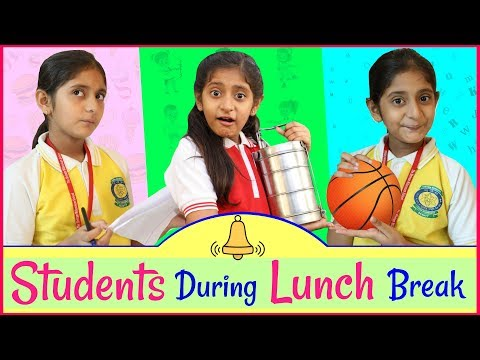 STUDENTS During LUNCH BREAK - Types Of Kid | #SchoolLife #Fun #Sketch #MyMissAnand