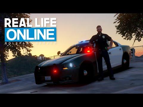 POLIZEIDIENST in Los Angeles! - GTA 5 Real Life Online