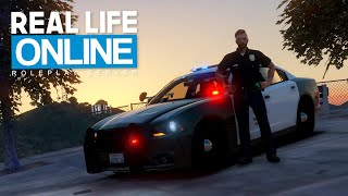 POLIZEIDIENST in Los Angeles! - GTA 5 Real Life Online