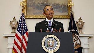 أوباما يصف الاتفاق النووي مع إيران بالتقدم التاريخي