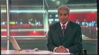 BBC Ten' O Clock News with George Alagiah - July 2003