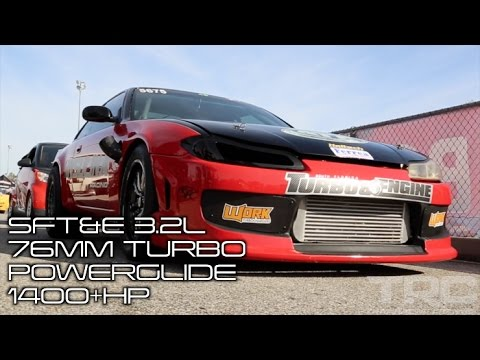 WORLDS FASTEST 240sx - The Red Rocket 7.3@187mph