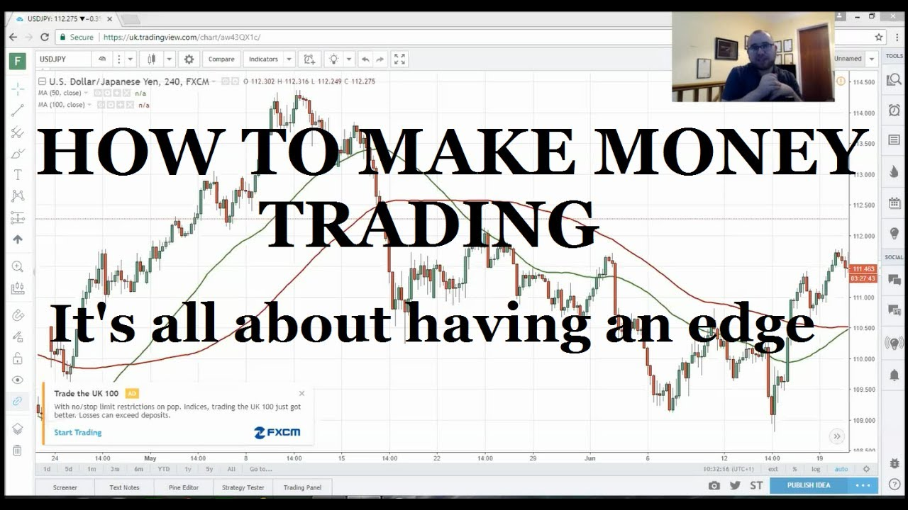 How do forex make money