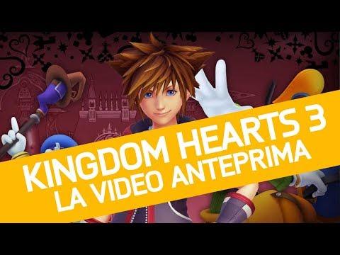 Kingdom Hearts 3 Anteprima: esploriamo il mondo magico di Square-Enix e Disney