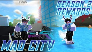 [CODE!!!] MAD CITY - FRANCE TOUTE LA SAISON 2 RÉCOMPENSES VITRINE! | Roblox