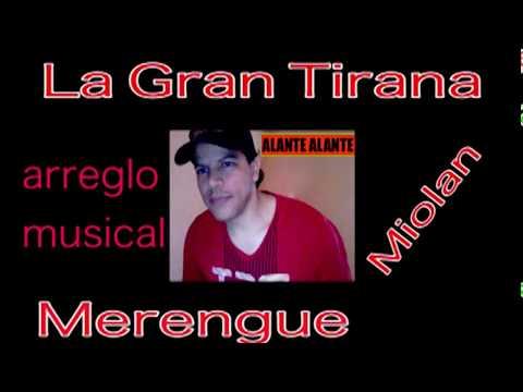 La Gran Tirana La Lupe (merengue karaoke martillo)