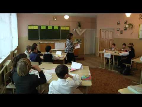 Урок математики у 6-В класі (частина 1).