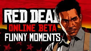 RED DEAD 2 ONLINE IS F&^#ING FUN (Red Dead Redemption 2 Online Fails & Funny Moments)