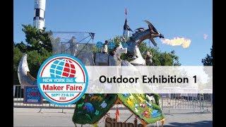 Maker Faire New York 2017 - Outdoor Exhibition 1 (Maker Faire Tour 2017)