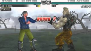 Tekken 5 Dark Resurrection: Time Attack Mode - Baek Doo San