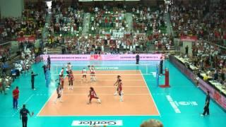 World Grand Prix Zielona Góra siatkówka 2011 - Polska - Kuba - match point