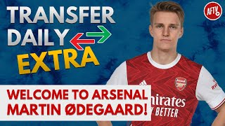 Welcome To Arsenal Martin Ødegaard