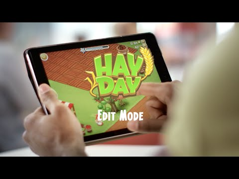 Hay Day: Introducing Edit Mode