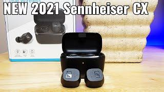 First Impression! New 2021 Sennheiser CX True Wireless Earbuds Review