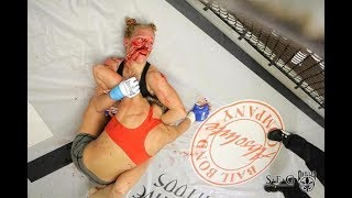 WMMA FIGHT - JESSICA FRESH VS CINDI BOTTELBERGHE - FEMALE MMA FIGHT