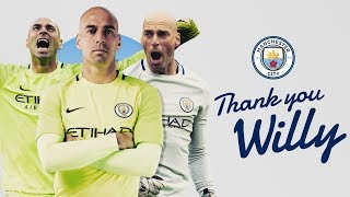 Willy Caballero Leaves Manchester City | Best Bits | #ThankYouWilly