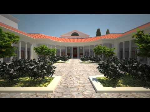 Hadrian's Villa Vestibule reconstruction