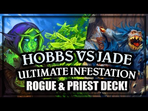 Hobbs VS Jade Druid 🍀🎲 ~ Knights of the Frozen Throne Expansion ~ Hearthstone